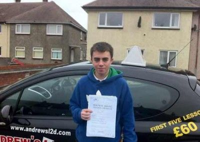 Evan Lau Llandudno First Time Pass at Bangor