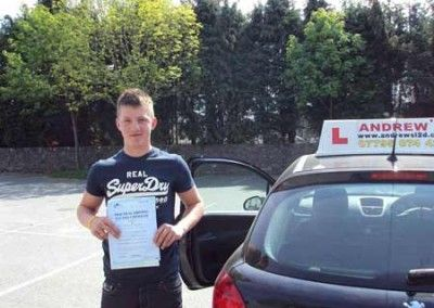 Jamie Williams passed at bala