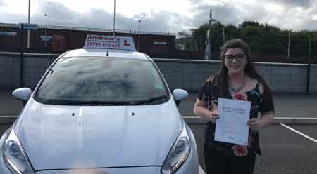 Sarah from Colwyn Bay passed on the 9th August 2017