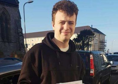 Rowan from Llandudno Passed first time at Bangor 8th February 2017