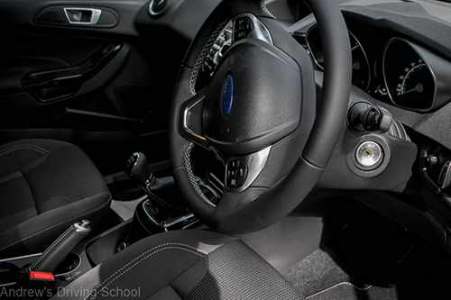 Drive in comfort in this plush ford fiesta ecoboost interior