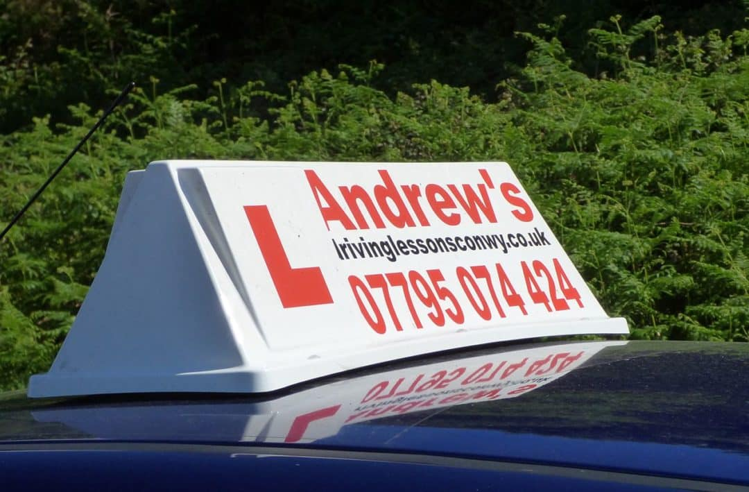 Working as a driving instructor in North Wales