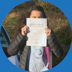 Driving lessons review from lara in North Wales