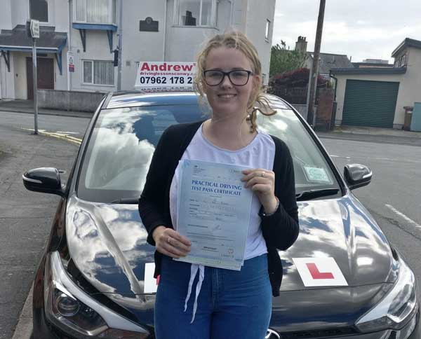 Chloe Llandudno Junction Driving Course