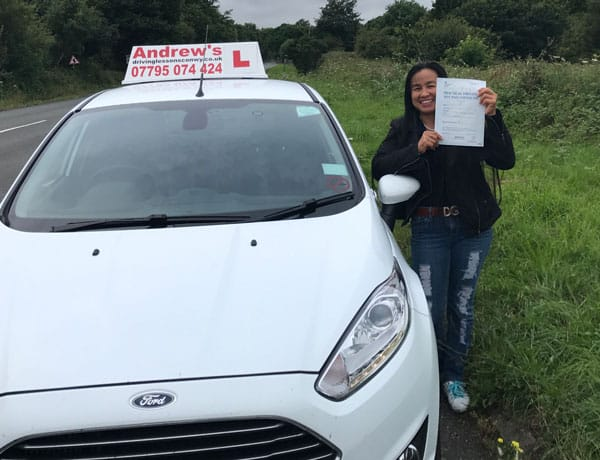 Driving Lessons Conwy Nicha Jones