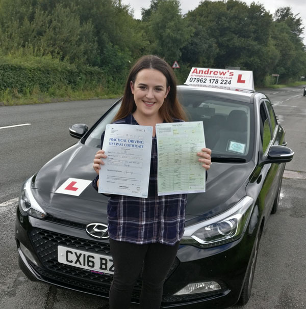 Tara  perfect drive passed with no minors