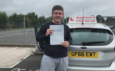 Cameron Llandudno Junction driving test