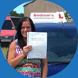 Driving School Testimonial from Shannon in Llandudno