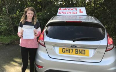Kylia passed first time in Rhyl