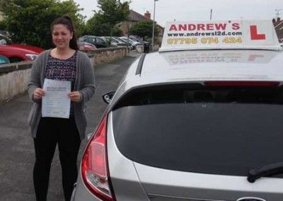 Bethan Munslow from Abergele North Wales passed at Rhyl today July 2nd 2014
