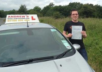 Gareth Moreton from Deganwy Conwy North Wales passed at Bangor today June 19th 2014