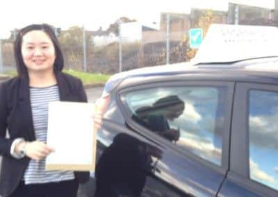 Lori Jones of Llandudno passed first time November 19th 2013