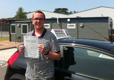 Josh Maguire of Penmaenmawr, Conwy Passed today July 12th at Bangor test centre