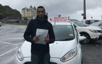 Driving Lessons Llandudno Aziz