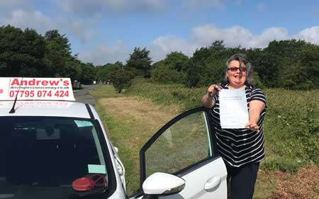 Carol Jones penmaenmawr passed at Bangor 15th June 2017