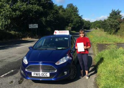 ElinorDaviesPassed driving test  17th August 2017