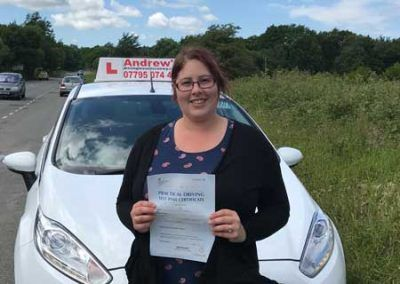 Laura Jones Deganwy Passed at Bangor 6th June 2017