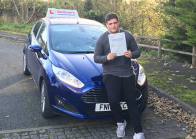 John From Conwy passed first time October 30th 2017