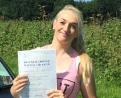 Shannon Passed first time