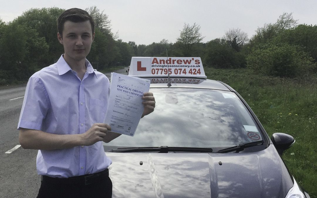 Perfect driving test pass