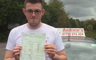Daniels Perfect Driving Test Pass