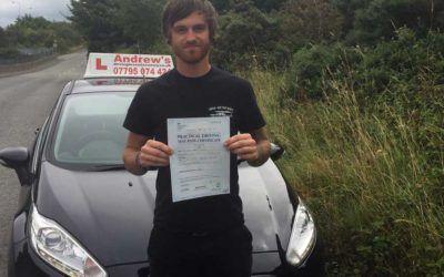 James driving lessons in dolgarrog