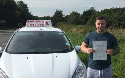 Ben Driving Lessons in Glan Conwy