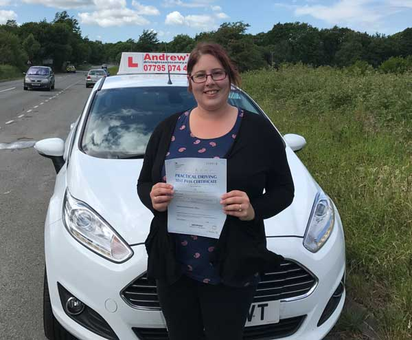 Laura Deganwy driving lessons