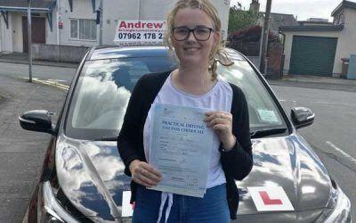 Chloe Llandudno Junction Driving Course