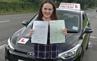 Tara  perfect drive passed with no minors