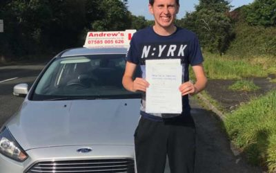 Connor from Conwy Driving test