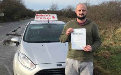 Ash passed first time