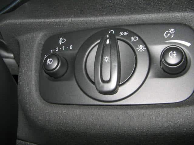Ford fiesta headlight switch