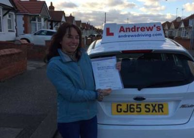 Nuria passed in Rhyl 30th Novemver 2017