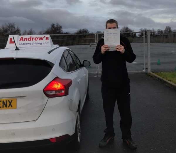 last of the old driving test