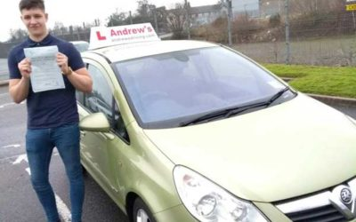 Nathan Kelly First time driving test pass