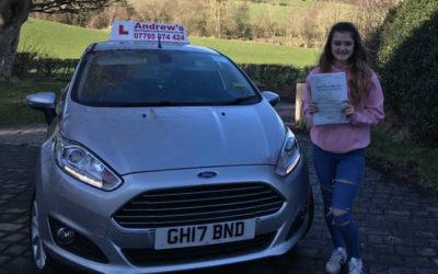 Courtney  driving lessons Llanfair TH