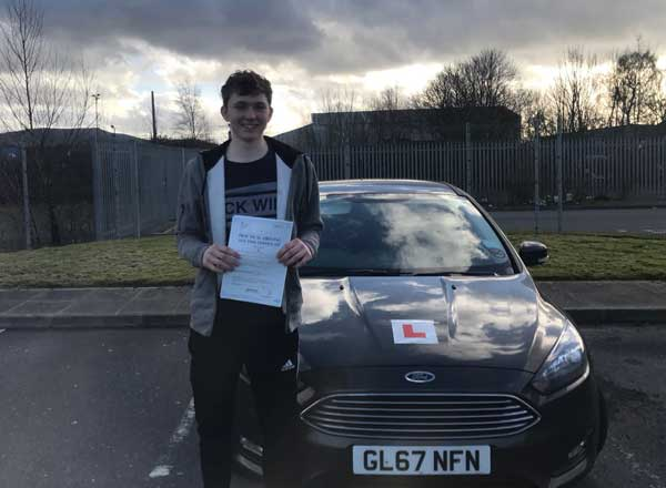 Ethan's First time pass