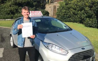 James Corr Colwyn Bay Driving Test