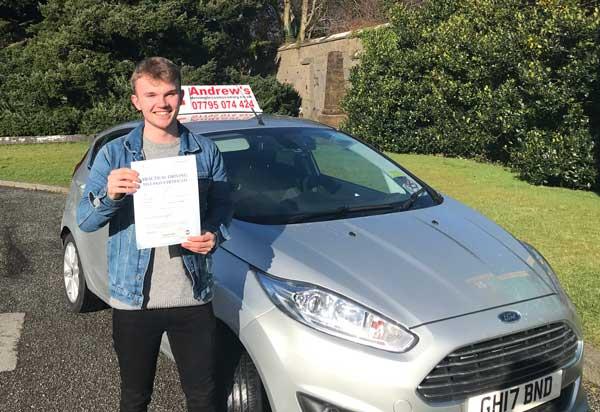 James Corr Colwyn Bay Driving Test