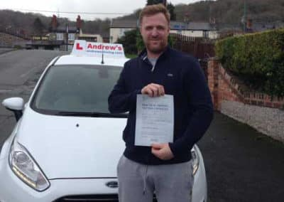 Martin Loynd passed first time February 9th 2018.