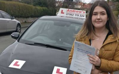 Gracie passed first time