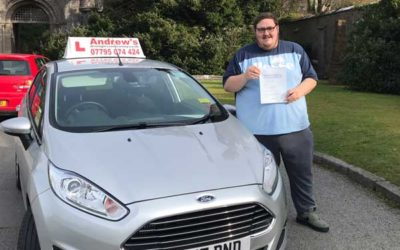 Craig Jones passed first time