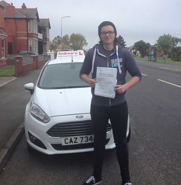 Stephen Passed in Rhyl