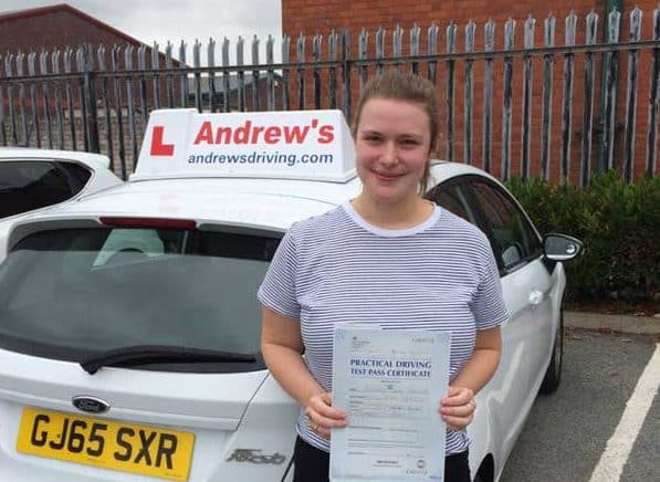 Alex Passed first time