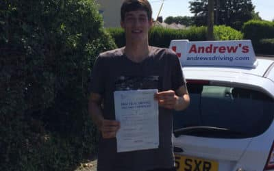 Connor passed first time in Rhyl