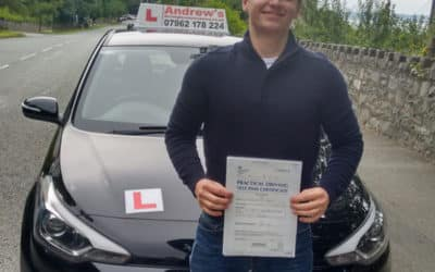 Daniel Penmaenmawr passed first time