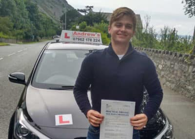 Daniel-Taylor-driving-test-passed-today