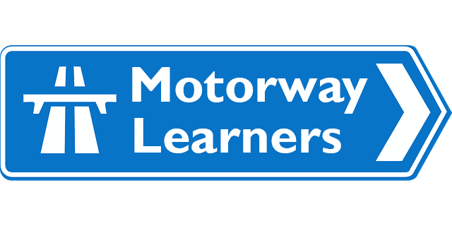 Learner drivers on motorway
