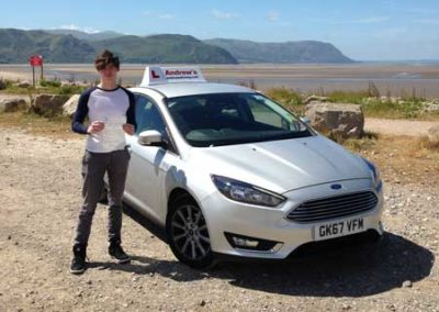Tom Roberts from llandudno passed first time June 22nd 2018.